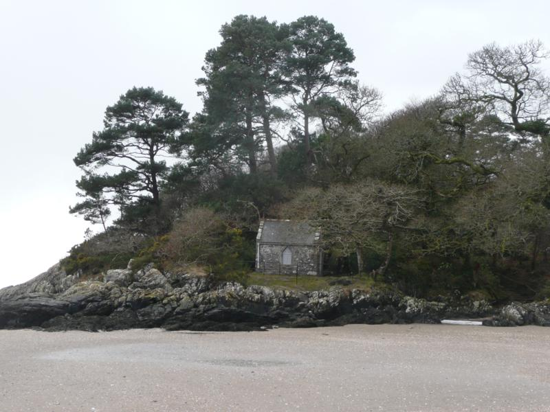 The Historic Cardoness Chapel Near Clachan Cottage