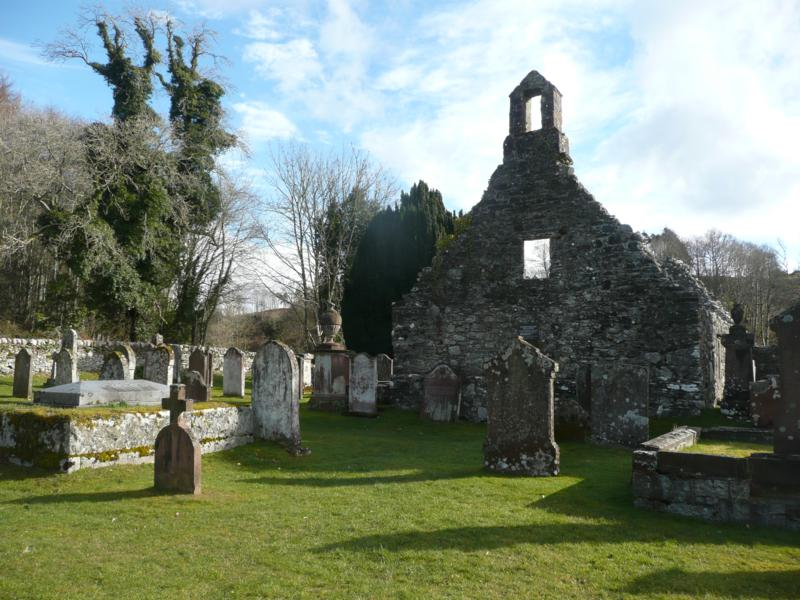 The old kirk at Anwoth